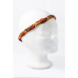 Headband chaine or/argent