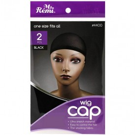 WIG & WAVES CAP - MS. REMI